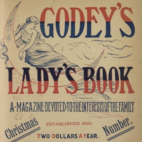 vintage magazine godey's lady's book