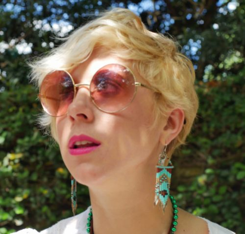 sammy davis of sammy davis vintage wearings 70s style sunglasses