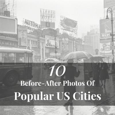 10 Historic Photos Of Famous Places
