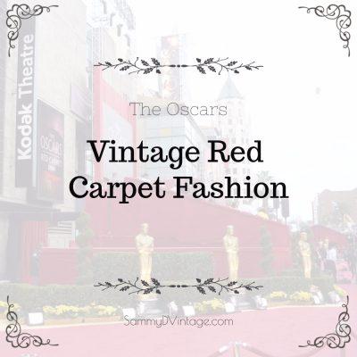 Vintage Red Carpet Fashion