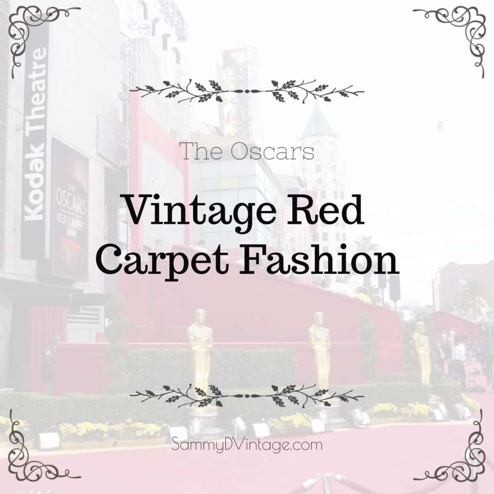 Vintage Red Carpet Fashion