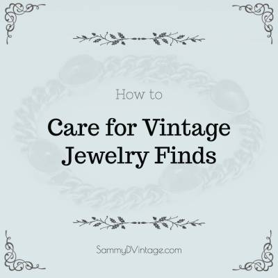 How to Care for Vintage Jewelry Finds