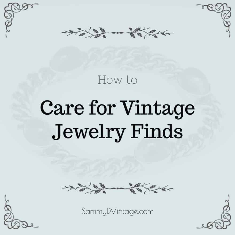 How to Care for Vintage Gold Necklaces and Other Jewelry Finds
