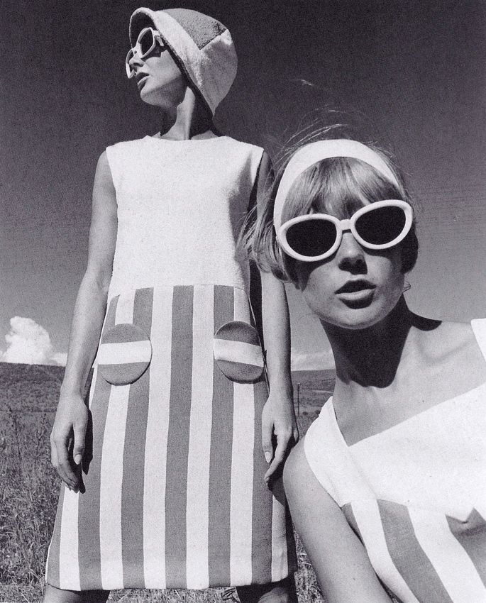 "sweetjanespopboutique:"" Fashion feature, Brigitte, 1966. Photograph by F.C. Gundlach. Image scanned by Sweet Jane. """