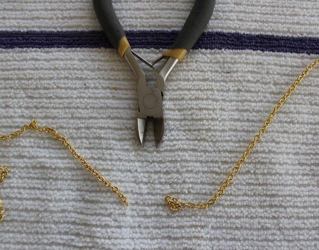 Create This DIY Vintage Button Statement Necklace