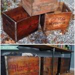 DIY Rolling Storage Containers Made With Vintage Crates