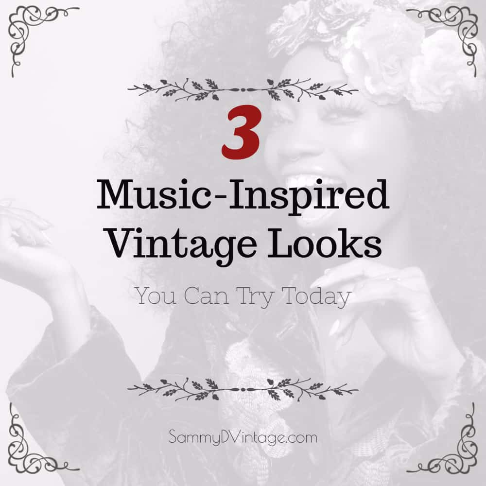 3 Music-Inspired Vintage Looks You Can Try Today
