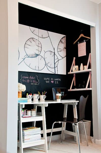 How To Create A Home Office -- Even If You Don't Have The Space