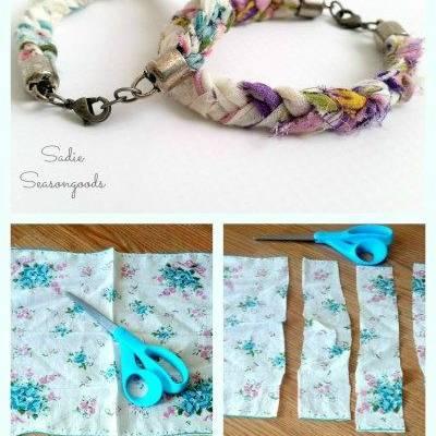 Make Your Own Cute Handkerchief Bracelet