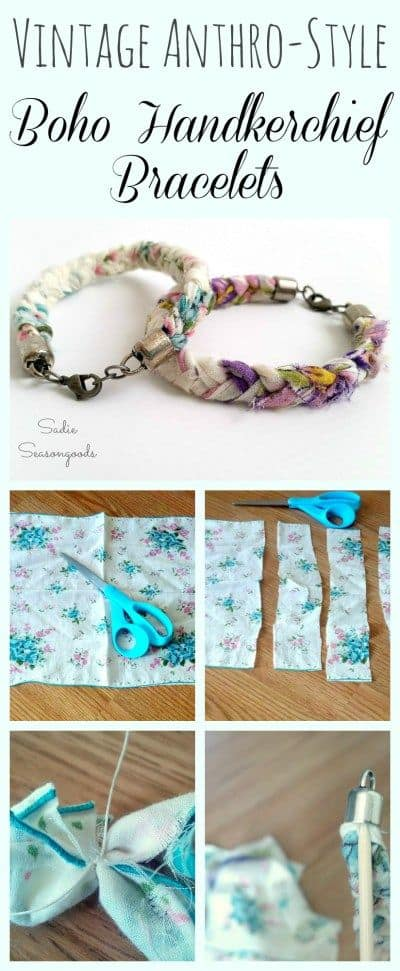 Make Your Own Cute Handkerchief Bracelet