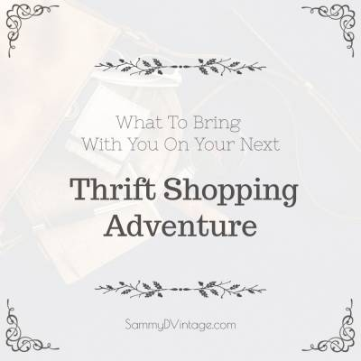 What To Bring With You On Your Next Thrift Shopping Adventure
