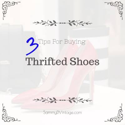 3 Tips For Buying Thrifted Shoes
