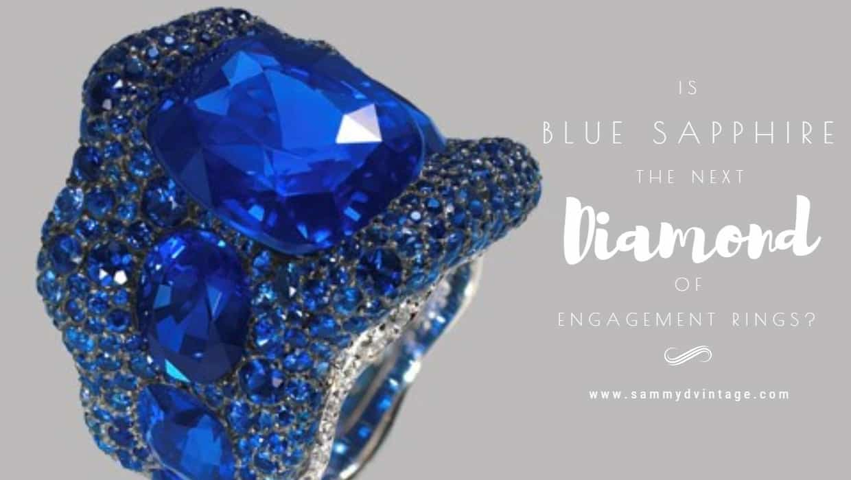 Is Blue Sapphire the Next Diamond of Engagement Rings?