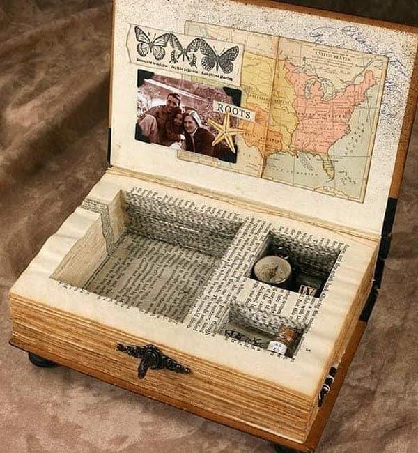 Turn An Old Book Into A Keep-Sake Box