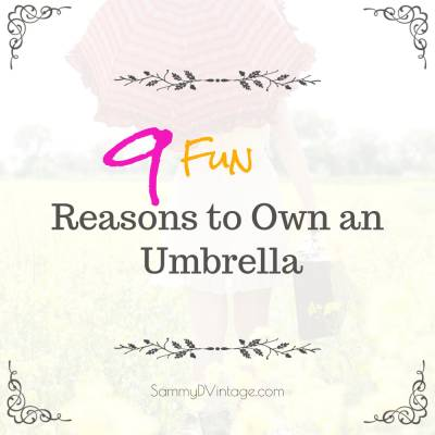 9 Fun Reasons To Own An Umbrella