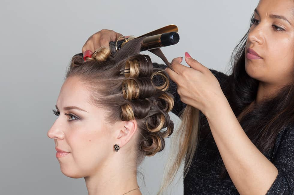 Vintage Hairstyle Tutorial How To Create Victory Rolls
