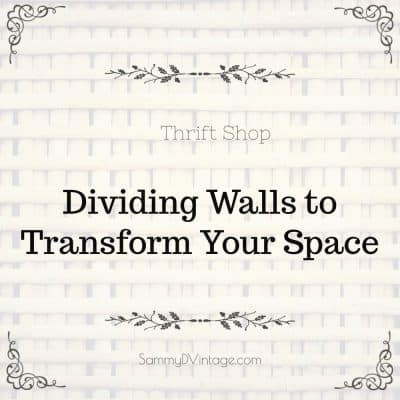 Thrift Shop Dividing Walls To Transform Your Space