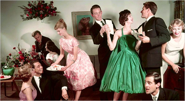 How to Throw a Successful 1950's Cocktail Party