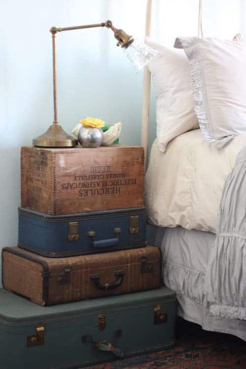 3 Ways To Create Your Own Nightstand With Thrift Shop Items