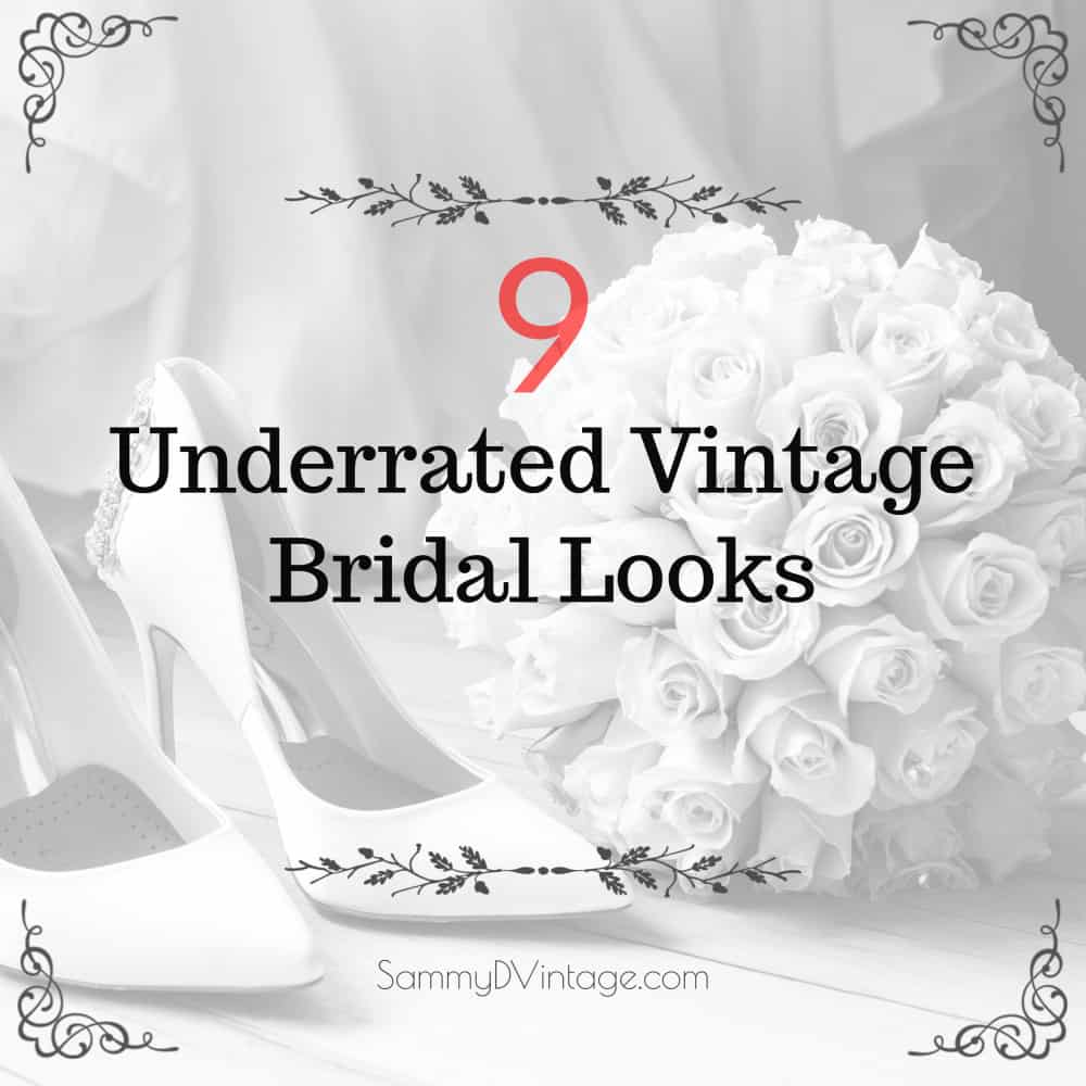 9 Underrated Vintage Bridal Looks