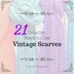 21 Creative Ways to Use Thrifted Scarves