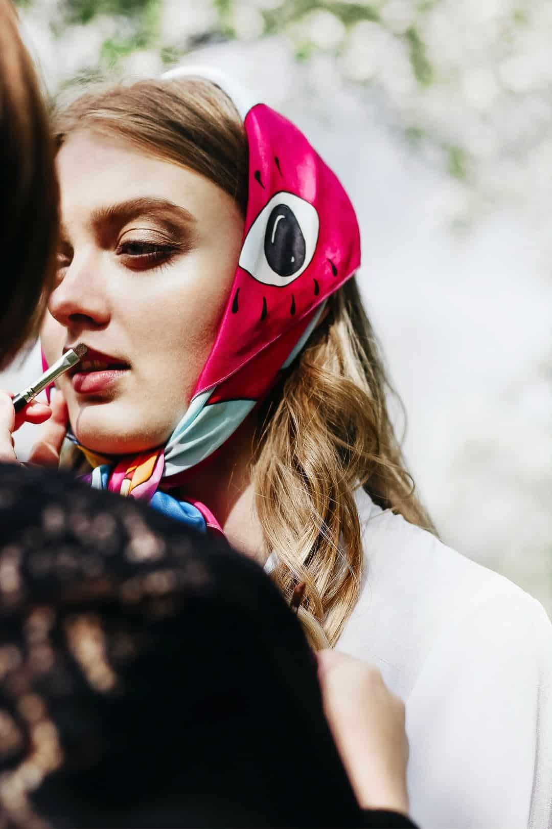 8 Ways to Wear a Silk Scarf