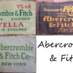 abercrombie and fitch vintage tags