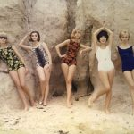 1960s vintage bathing suits for women
