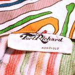 tori richard of honolulu vintage clothing tag
