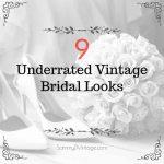 9 Underrated Vintage Bridal Looks